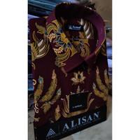 ALISAN Kemeja Batik Lengan Panjang Reguler - Big Size - 0605