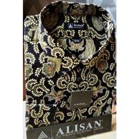 ALISAN Kemeja Batik Lengan Panjang Reguler - Jumbo Size - 0602