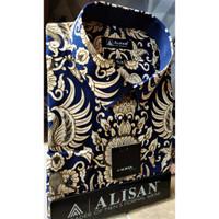 ALISAN Kemeja Batik Lengan Panjang Reguler - Big Size - 0603