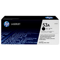 HP Q7553A BLACK ORIGINAL LASERJET TONER CATRIDGE