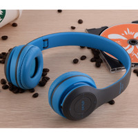 HEADPHONE HENSET GAMING BLUETOOTH WIRELESS P47 TOP QUALITY