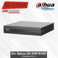 Dvr Dahua 16 Channel XVR1B16H Cooper Series Pentabrid Original 5in1