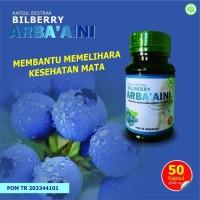 Kapsul ekstrak billberry ARBA AINI nutrisi mata kesehatan mata