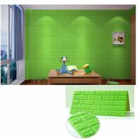 Wall Paper BRICK FOAM Dinding Bata 3D Wallpaper Sticker Busa 70x77 cm