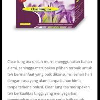 Clear Lung Tea Wootekh / Green World / Sesak nafas Ori 100% Wootekh
