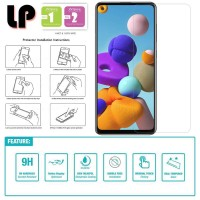 LP HD Tempered Glass Samsung Galaxy A21S - Clear Original Kaca Bening
