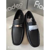 Sepatu Kerja Pria Flatshoes MSM68-1RABCK merk Fladeo