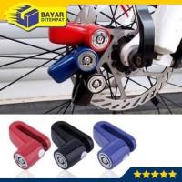 Kunci Cakram Motor Gembok Sepeda Lock Disc Brake