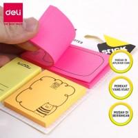 Deli EA55502 Sticky Notes set 50sheets/pad / Memo tempel 50 sheets