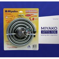Miyako RMS-106M Paket Selang Regulator Gas