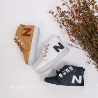 Sepatu Boots Tali Velcro JS05