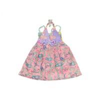 Batik Bayi Model Sabrina/Batik Anak/Dress Batik/Baju Batik Perempuan