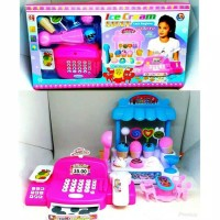 Kasir Kasiran ICE CREAM STORE Cash Register Mainan Anak Perempuan