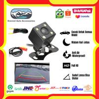 Kamera Camera Mundur Parkir Universal Mobil | 4 Led Mata Camera KX 801