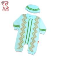 Baby Lona Jumper Fashion Muslim Boy Lengan Panjang 3-6 Bulan_07