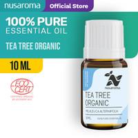 Tea Tree Essential Oil ( Organic ) 10 ML | (100 % Pure & Natural )