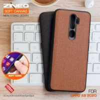 Soft Canvas Case Oppo A5 A9 2020 Softcase Hard Silicon Casing Cover