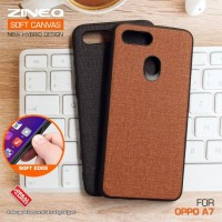 Soft Canvas Case Oppo A5s A7 Softcase Hard Silicon Casing Cover Jelly