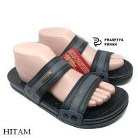 Sandal Pria Anti Air New Era VIII 014 - Sendal Casual Pria Hitam