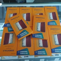 Jelly Case dan Anti Gores Samsung Galaxy A01 Original