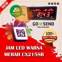 Jam Dinding Digital LED Cx-2158 MERAH -MURAH DAN BERKUALITAS