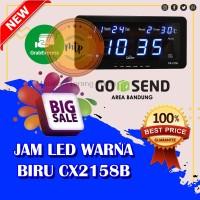 Jam Dinding Digital LED Cx-2158 BIRU MURAH DAN BERKUALITAS