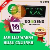 Jam Dinding Digital LED Cx-2158 HIJAU - MURAH DAN BERKUALITAS