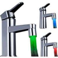 Saringan Air Kran Air 3 Warna LED Filter Keran LED Water Faucet Sensor