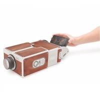 Proyektor HP Smartphone Portabel Cardboard 2.0 Presentasi Proyektor