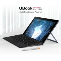 Paket Komplit Chuwi UBook 8/256 + Dock Keyboard + Stylus Pen Magnetic