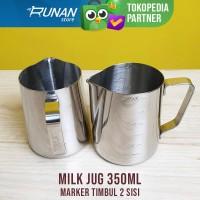 Jug Susu Marker 350ml Milk Jug Takar Timbul Conalli Latte Art Jug 350