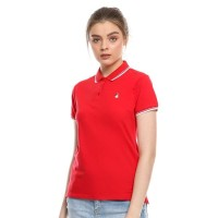Kaos Polo Wanita Hush Puppies - Alison in Red