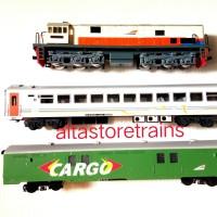 Miniatur Kereta api set