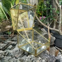 GlassRingBox 10*10cm | ringbox | terrarium | kotak cincin
