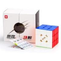 Rubik 3x3 QiYi Thunderclap V3M Magnetic Thunderclap V3 M Stickerless