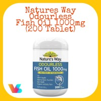 Natures Way Fish Oil Odourless 1000mg (200 Tablet)