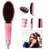 Catok Sisir Pelurus Rambut HQT-906 Sisir fast Hair Straightener