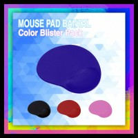 Mouse Pad Bantal Color Blister Pack (Mouse Pad)