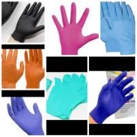 sarung tangan medis bahan nitrile jual perpasang