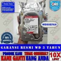 WD RED 8TB - HDD / HD / HARDDISK NAS Bergaransi Resmi Asli / Original
