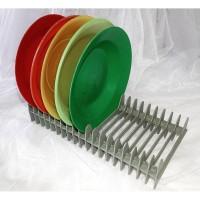 Rak Serbaguna/Rak Piring Portable/Rak CD DVD Plastik