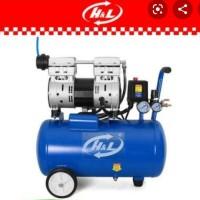 Mesin Kompresor Angin Listrik 0.75 HP 9 Liter H&L HL 9L