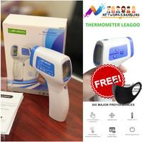 Thermometer Thermogun Infrared Non Contact Leagoo T02 GRATIS Masker