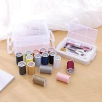 2480 Alat Jahit 1 Set Peralatan Menjahit Lengkap Kotak Sewing Kit