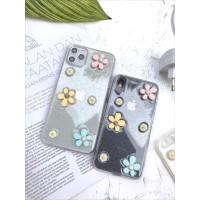 CASE FLOWER GLITTER 3D IPHONE 6 7 8 PLUS X XR XS MAX 11 PRO MAX