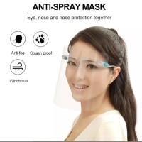 Kaca Mata Face Shield Anti Spray Mask Anti Virus TERMURAH