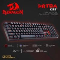 Redragon Gaming Keyboard Mechanical MITRA - K551
