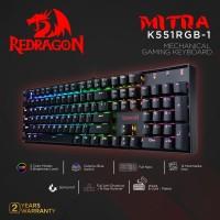 Redragon Gaming Keyboard Mechanical RGB MITRA - K551RGB
