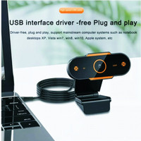 WEBCAM HD1080P USB 2.0 Resolusi 1920P X 1080P Model Baru