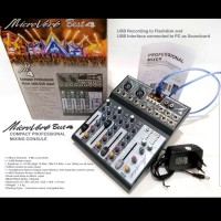 MIXER AUDIO MICROVERB BEST4/BEST 4 USB-BLUETOOTH-RECORDING TO PC